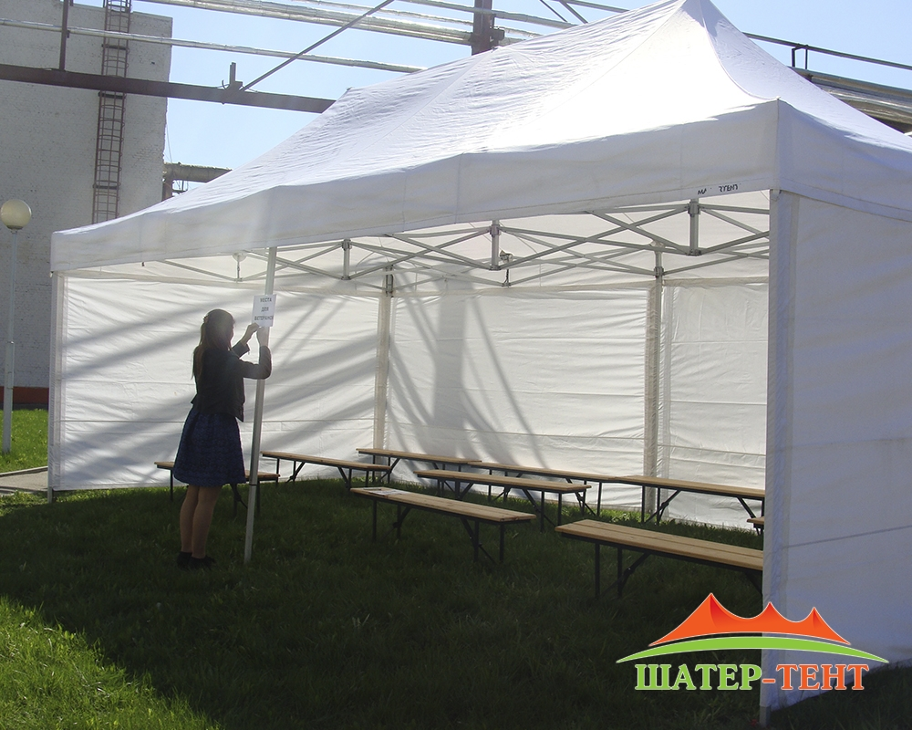 """The tent, """"Master tent"""" 4x8"""