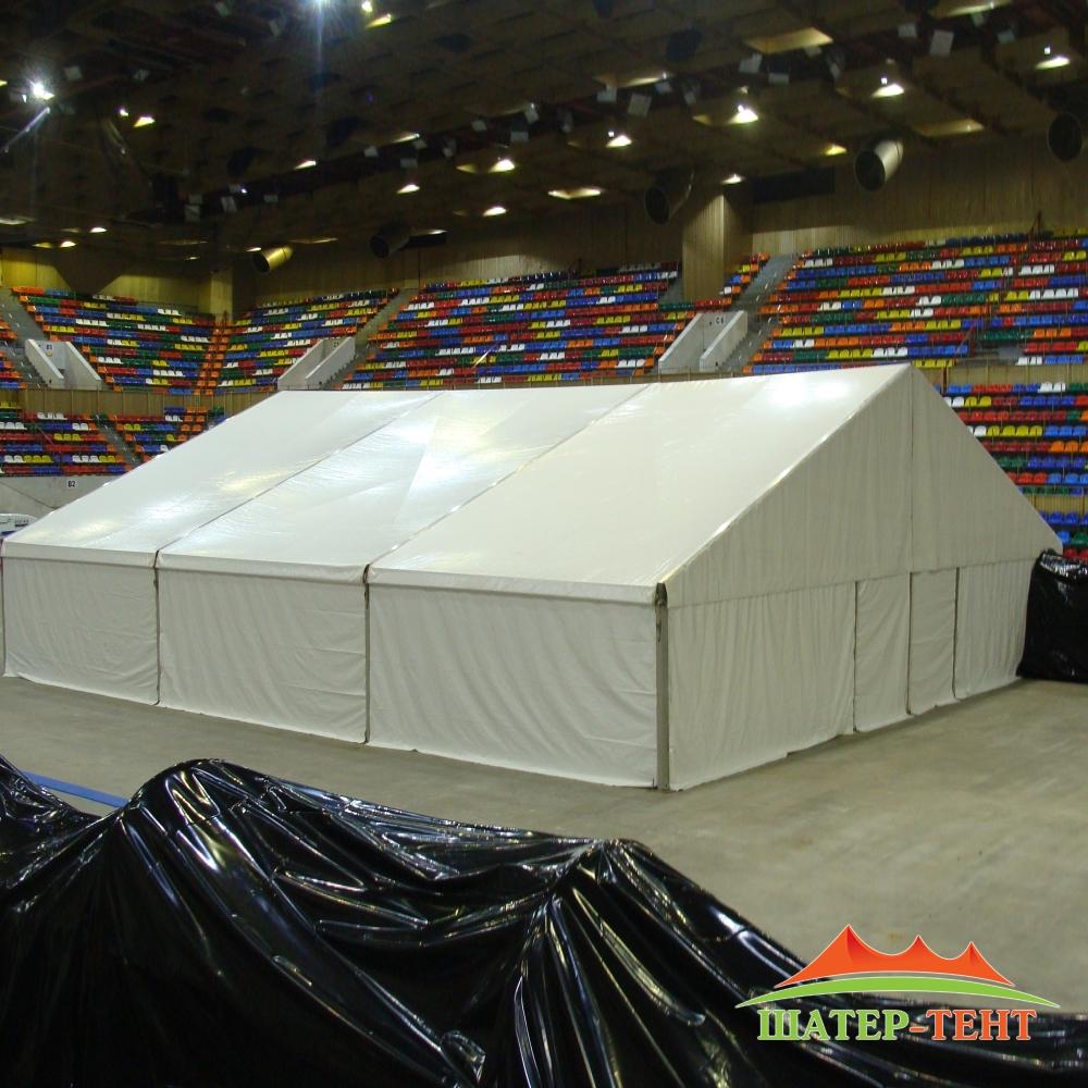 Тентовый павильон 14 метров на 15