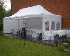"The tent, ""Master tent"" 4x8"